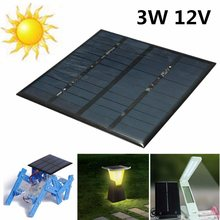 KINCO 3W 12V Solar Panel MINI DIY Battery Charger Polycrystalline Silicon 145*145*2.5mm Solar Cell For System Supply