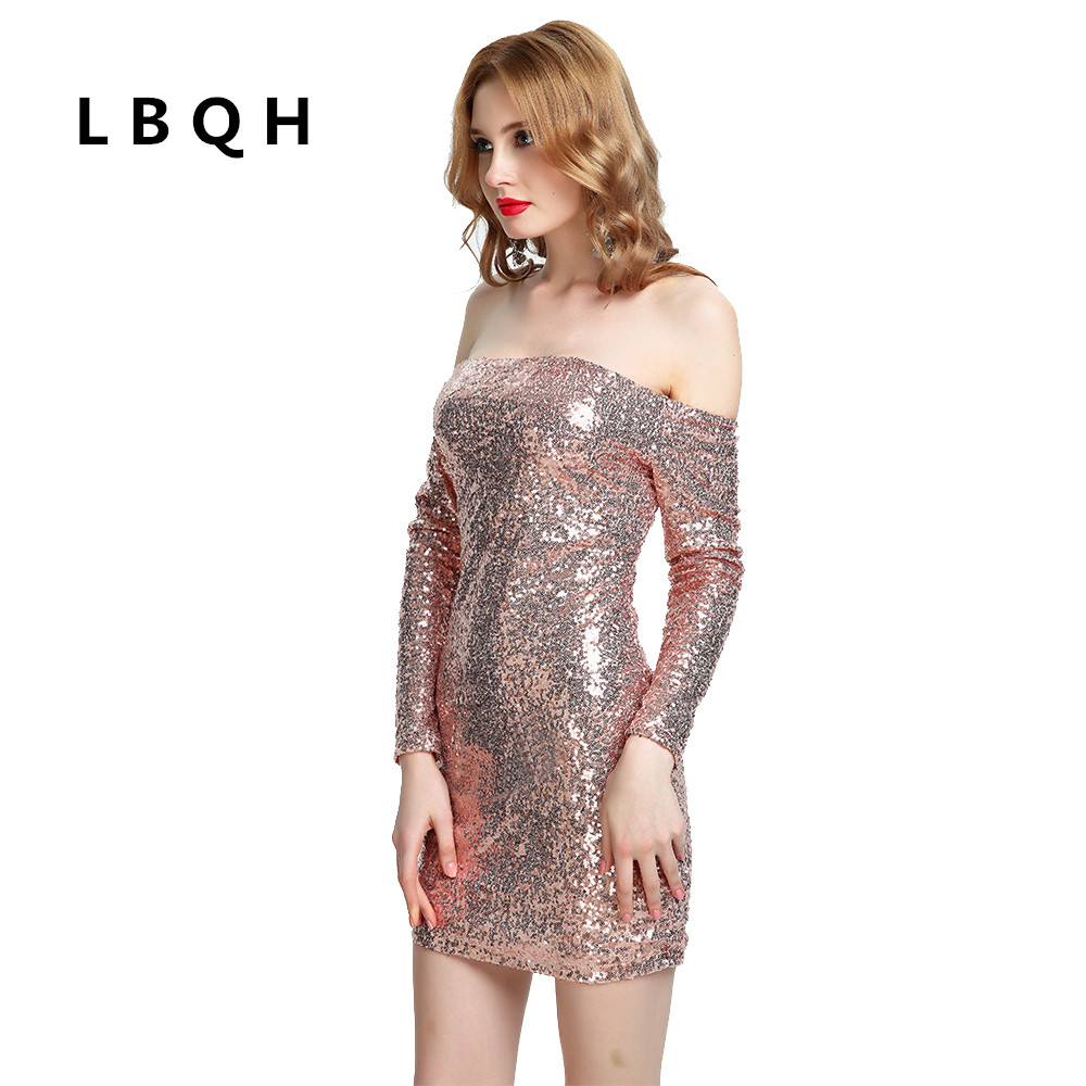 Online Get Cheap Sequin Dresses Long Rose Gold -Aliexpress.com ...