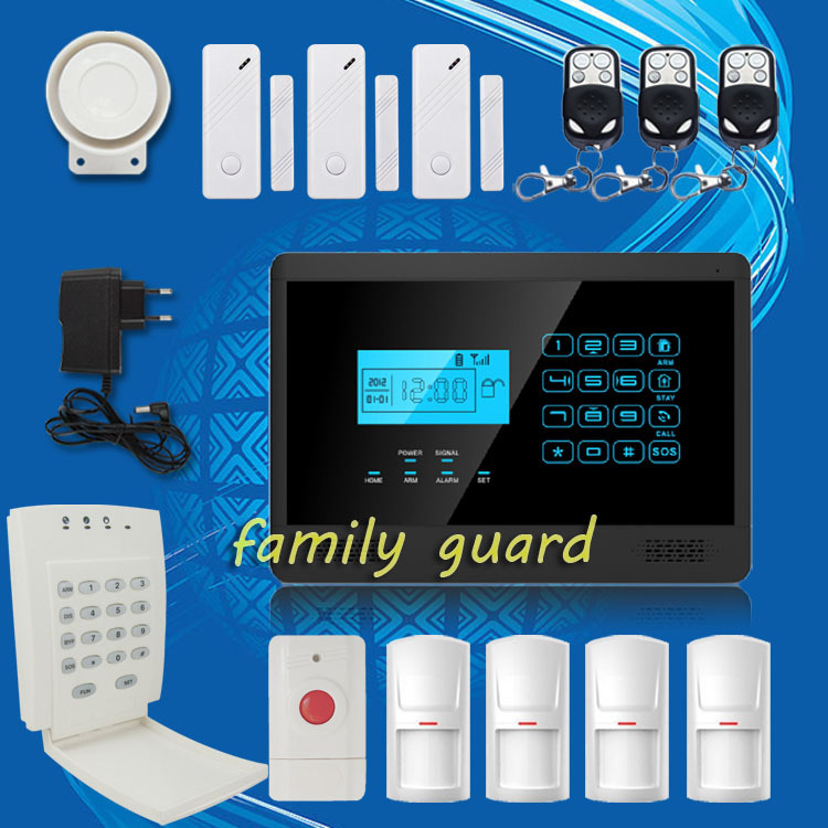 Free Shipping!Android IOS APP Autodial Wireless GSM alarm system with Touch Keypad Hot Sale+Password Keypad+Panic Button mundorf mkp mcap supreme silver gold oil 1000 vdc 2 7 uf