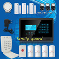 Free Shipping!Android IOS APP Autodial Wireless GSM alarm system with Touch Keypad Hot Sale+Password Keypad+Panic Button