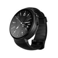 4G Smart Watch AMOLED Round Screen 1+16GB Android 7.0 GPS Heart Rate Monitor Jul26