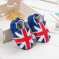 Meter Palabra Bandera Fácil de Poner al Bebé Zapatillas Bebé Zapatos de Interior Botines Primer Caminante