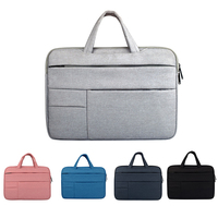 13inch Shockproof Tablet Sleeve Pouch Cloth Case For IPad Air 1 2 Mini Cover Solid Portable