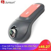 Junsun Auto DVR Camera Video Recorder Draadloze WiFi APP Manipulatie FHD 1080 p Novatek 96655 dvrs Dash Cam Registrator