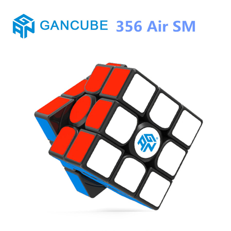 GAN 3X3 Cube Gan 356 Air SM 3x3x3 Magnetic Magic Speed Cube Professional Puzzle Gan356air Toys For Children Kids Gift Toy