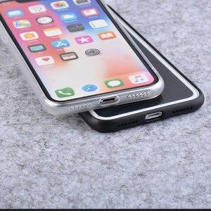 Image 3 - 실크 실리콘 범퍼 케이스 아이폰 6 6S 7 8 플러스 프로텍터 소프트 프레임 아이폰 X XR Xs Max shockproof Bumper Fundas Capa
