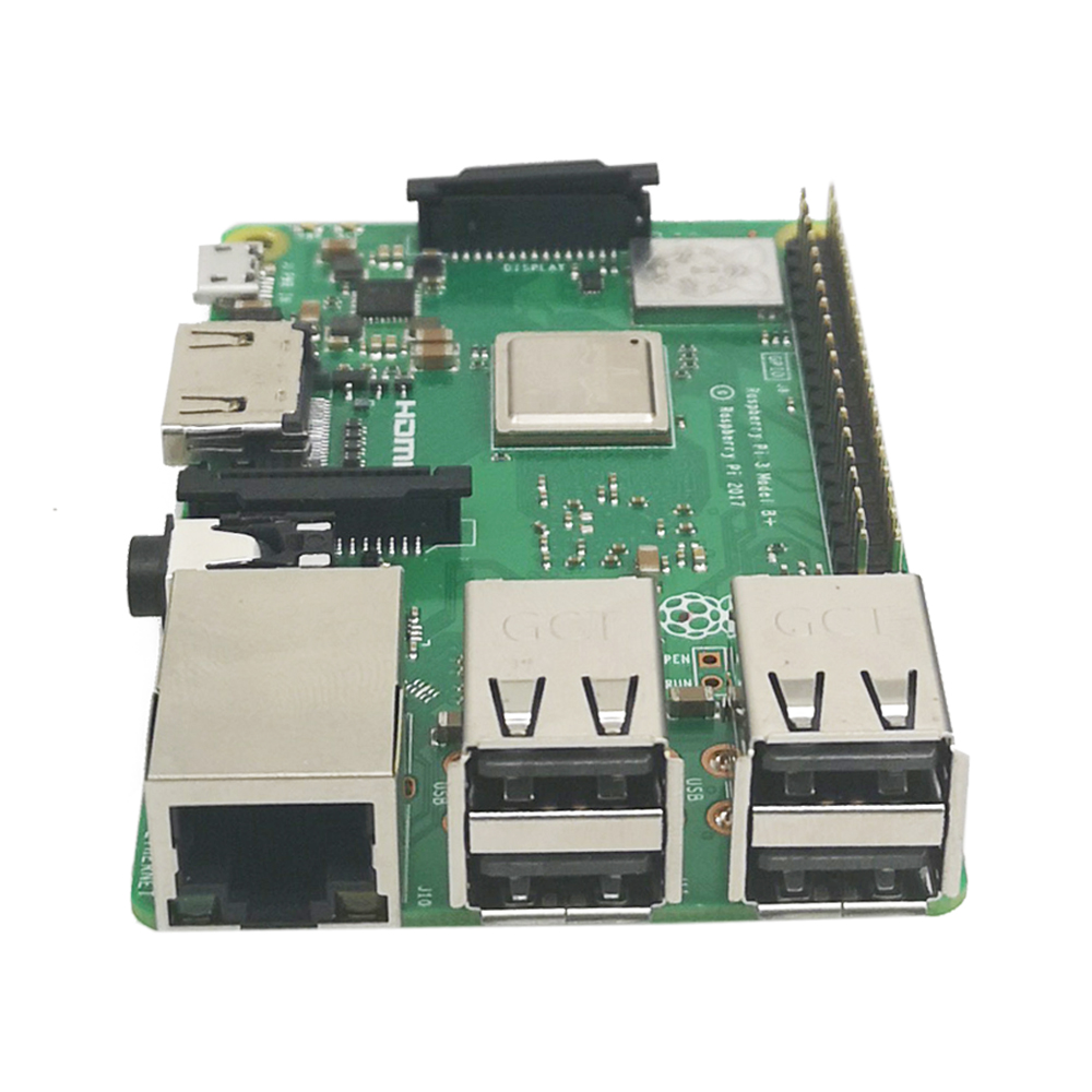 Original Officiel Framboise Pi 3 Modèle B + Plus Pi 3B + Linux Démo Conseil Python Programmation Mini PC - 4