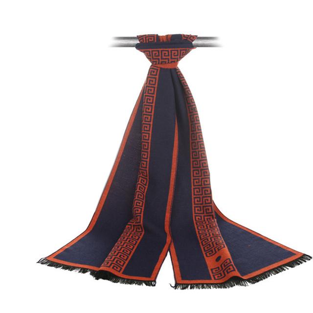 Bufanda de Cachemira con diseño Geométrico