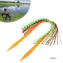 1 Set Fishing Skirts Silicone PVC Band Rubber Jig Squid Lure Spinner Bait Thread(China)
