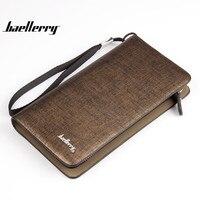 2016 New Baellerry Luxury Brand Wallets Men Clutch Bags Korean Design Men Wallet Passport Monederos Money