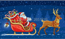 MERRY CHRISTMAS blue Flag 3x5FT banner 100D 150X90CM Polyester brass grommets custom66,free shipping