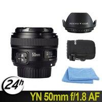 Original YONGNUO YN 50mm f/1.8 AF Lens YN50mm Aperture Auto Focus Large Aperture for Nikon DSLR Camera as 1.8G Free lens bag