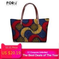 FORUDESIGNS Bags For Women 2018 African Traditional Printed Female Designer Ladies Handbags High Quality Travel Bolsa Feminina