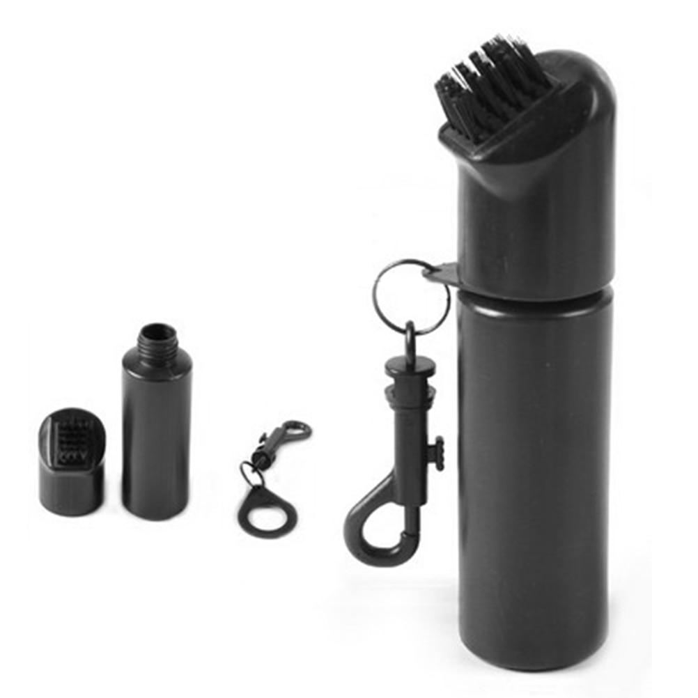 1pcs Golf Club Scrub Wet Cleaning Brush Golf Iron Ball Cleaning Brush Golf Cleaner With Water Bottle Golf Equipment