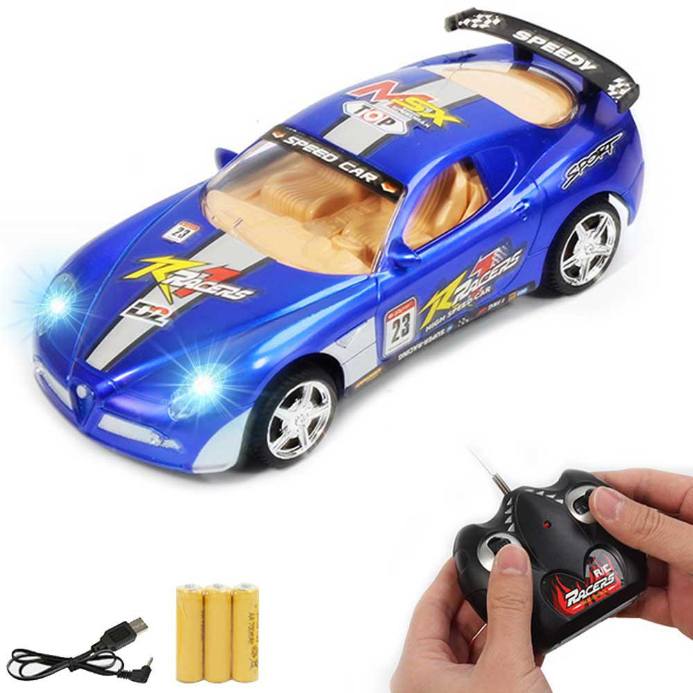 Image 5 - Children RC Racing Car Rechargeable Radio Remote Control Simulation Car with Light Model Toy Vehicle for Kids-in RC Cars from Toys & Hobbies