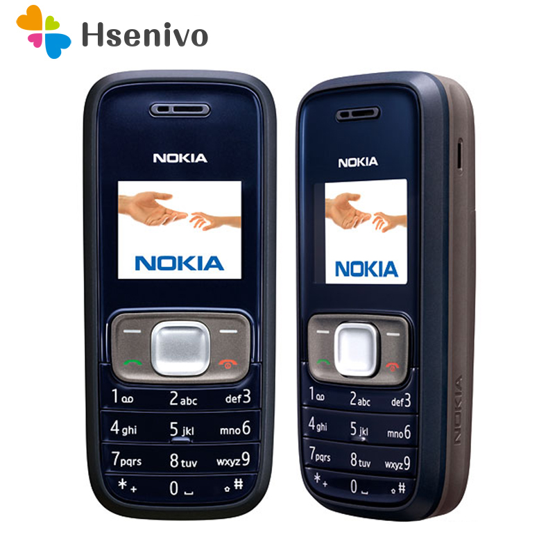 1209 Original Cellular Nokia 1209 Cheap Phones GSM Unlocked Phone Refurbished Free Shipping