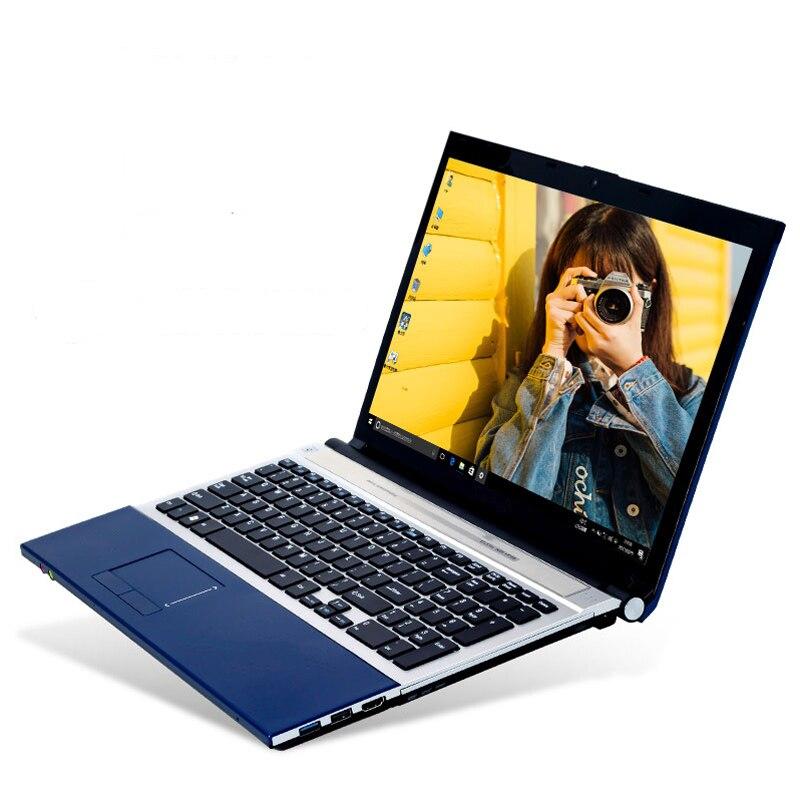 Image 2 - Amoudo 15,6 дюймов Intel Core i7 8 ГБ ОЗУ 240 ГБ SSD 1 ТБ HDD DVD RW камера wifi ноутбук с Bluetooth компьютер Windows 10 ноутбук ПК-in Ноутбуки from Компьютер и офис