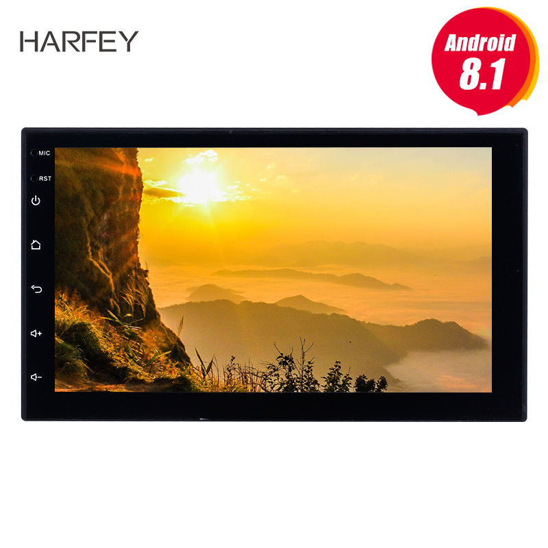 Harfey Android 8.1 7 Car Multimedia player For Universal Nissan VW Toyota Kia rio Hyundai Suzuki Honda 2din GPS NavigationHarfey Android 8.1 7 Car Multimedia player For Universal Nissan VW Toyota Kia rio Hyundai Suzuki Honda 2din GPS Navigation