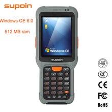 С операционной системой Windows CE 6,0 1D 2D QR КПК интеллигентая(ый) POS терминал учета с 512 МБ ОЗУ 3800 мА/ч, Батарея IP67 WI-FI Bluetooth