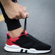 Spring and autumn new mens mesh breathable movement shoes trend wild casual men Sneakers