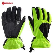 Boodun 5 Colors Men Women Snowboard Gloves Thicken Warm Waterproof Ski Skiing Touch Screen Winter Outdoor Snow
