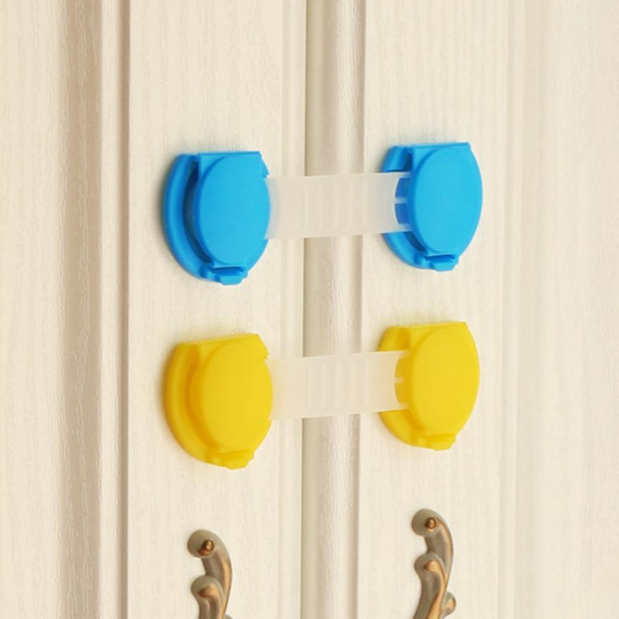 1 Pc Baby Safety Drawer Locks Baby Safety Door Drawer Lock Safety Protection MAY28