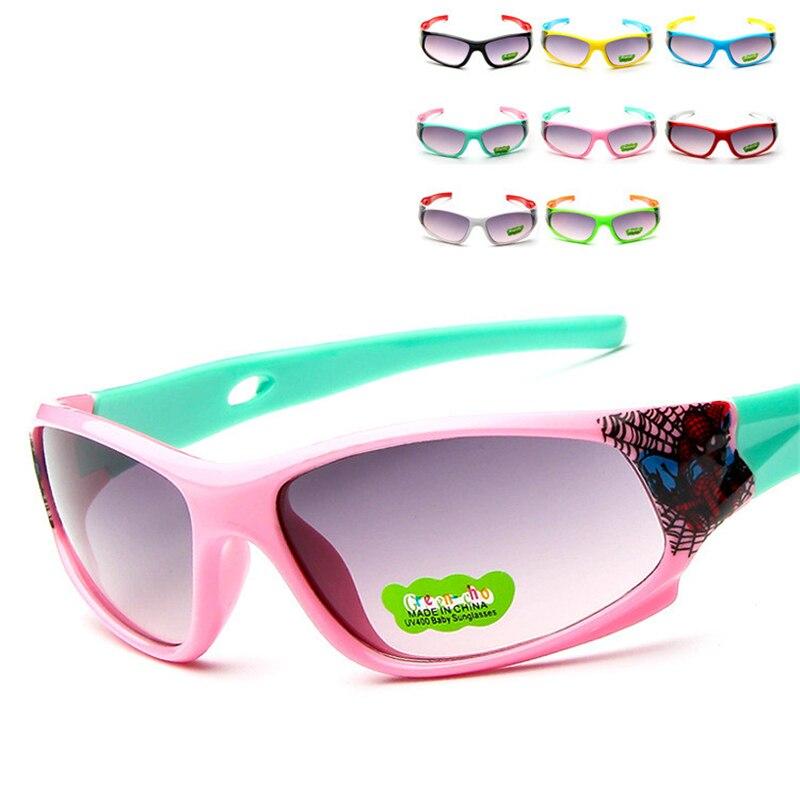 Men's Sunglasses Rilixes Kids Sunglasses Child Baby Safety Coating Fashion Spider-man For Kid Uv400 Eyewear Shades Men's Glasses