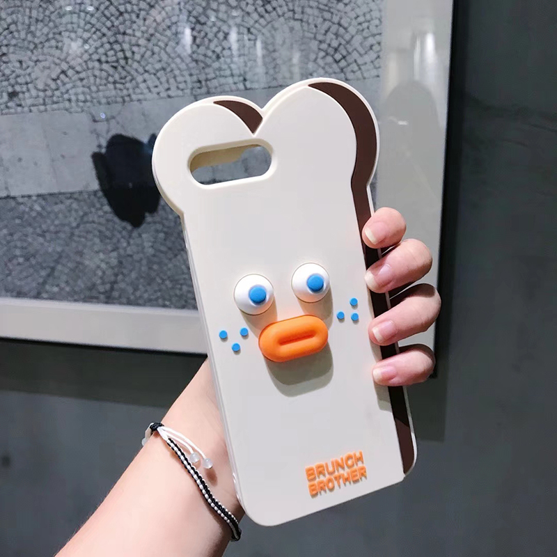 HTB1ZIsumbArBKNjSZFLq6A dVXay Cute Cartoon Bear Case for iPhone 11 Pro Max XR XS X 8 Plus 7G 6 6S Toast Cases Pout Brunch Sausage Bear Cat Slicone Cover