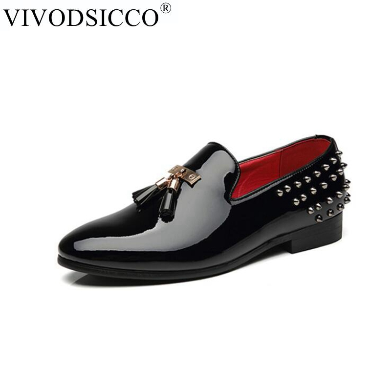 New Luxury Men Party Dress Shoes