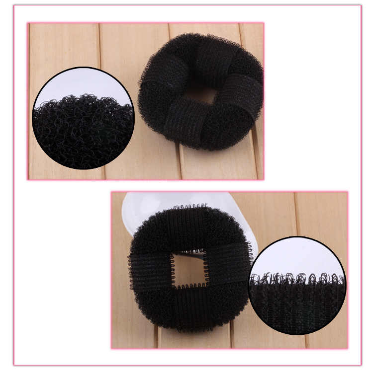 1pcs Hair braider for girls women hair styling Donut Former Foam French Twist Magic Hair Bun Sponge Hair Style Braid Tool in Braiders from Beauty Health