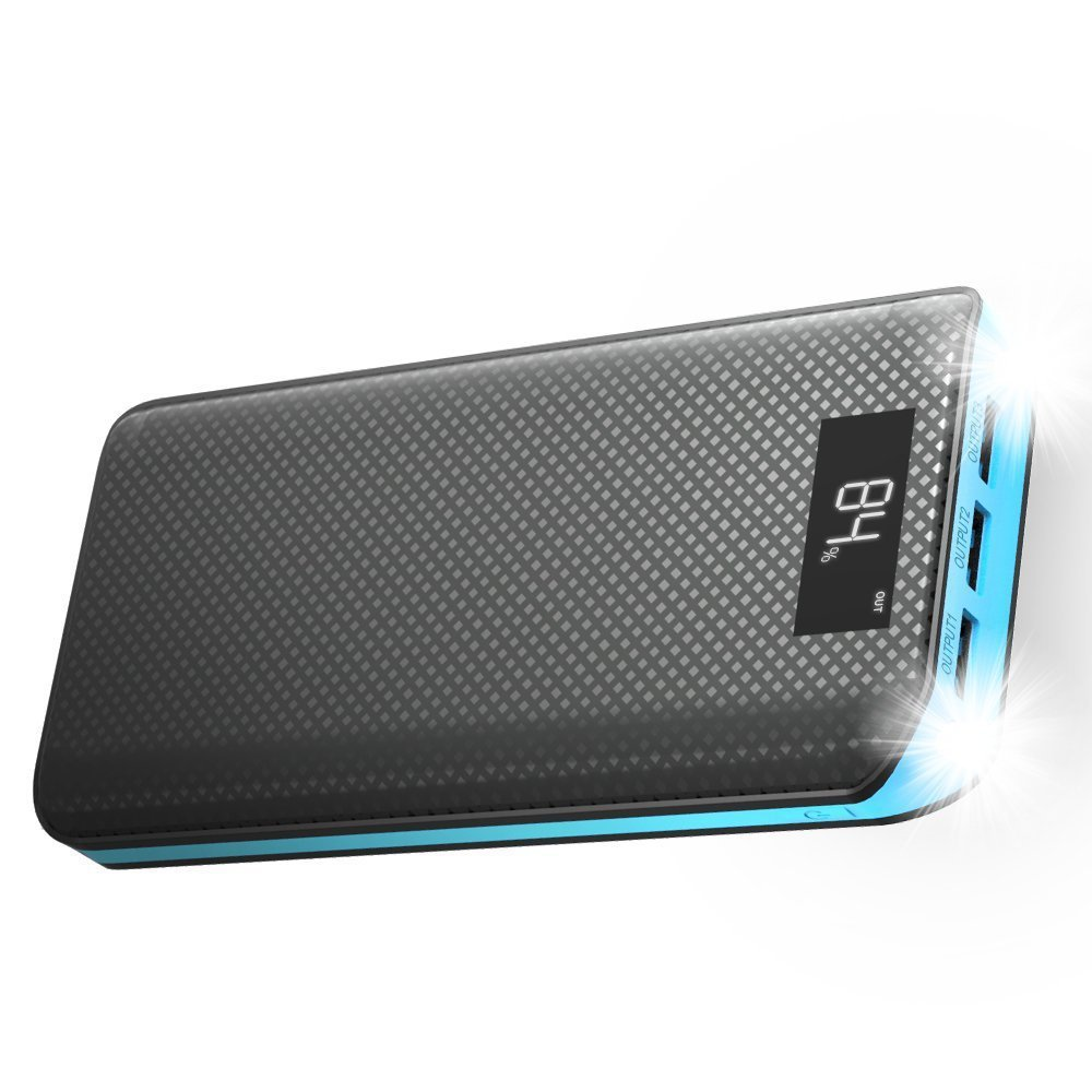 2018-new-20000mah-black-blue-color-portable-power-bank-li-polymer-external-battery-charger-3usb-2-0-lcd-screen