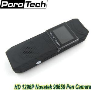 Image 1 - جديد hd 1296 وعاء نوفاتيك 96650 القلم الكاميرا dvr كاميرا الجسم الجيب حلقة تسجيل شحن مجاني