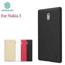 Для nokia 3 чехол Nillkin чехол для Nokia 3 Высокое качество Super Frosted Shield чехол для Nokia 3 + Экран протектор
