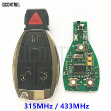 QCONTROL Smart Key for Mercedes Benz 315MHz 433.92MHz Car Remote Controller Keyless Entry with Chip Year 2000 -(China)