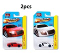 2pcs 1:64 Metal car model R8 Alloy materials kids toys Racing  Pocket car kids like gifts