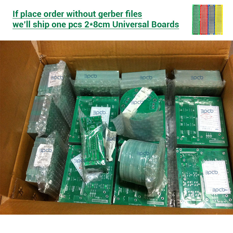 Low prices Double Sided PCB Prototype Board pcb prototyping board printed circuit board Affordable PCB Manufacturer pay link1 prototype universal printed circuit board breadboards 5 pack