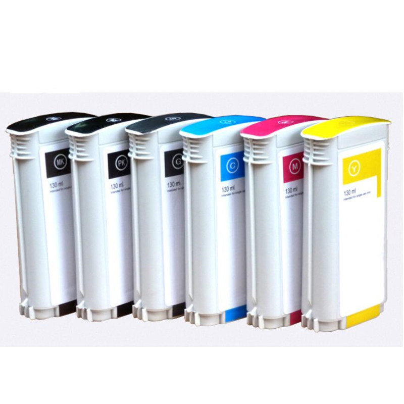 Ink Cartridge 72 Full 130ML Ink With Chip For HP Printer T610 T620 T770 T790 T795 T1100 T1120 T1200 T1300 T2300