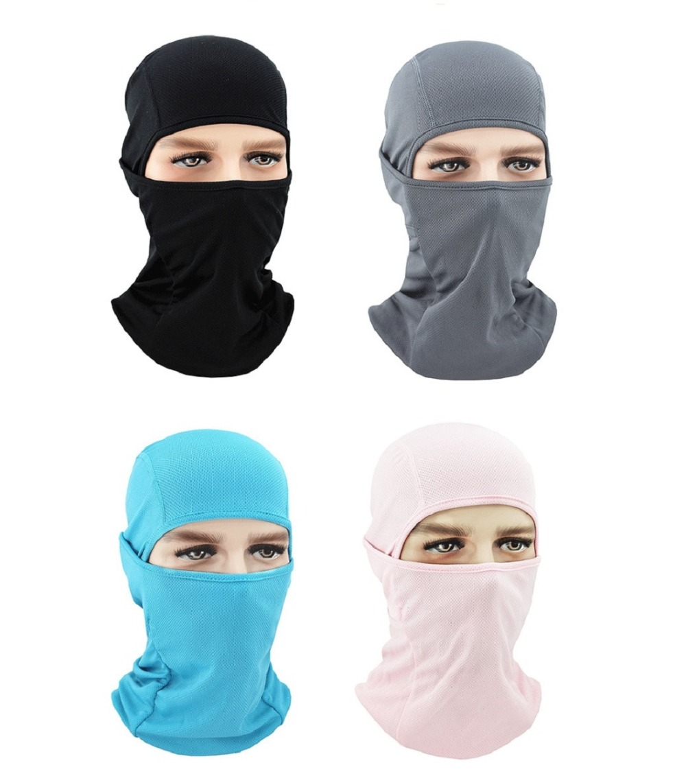 Motorcycle Face Mask Moto Balaclava Sports Biker Motorbike Neck Warmer Headwear Full Face Mask Headgear full face lycra protection balaclava headwear neck cycling motorcycle mask