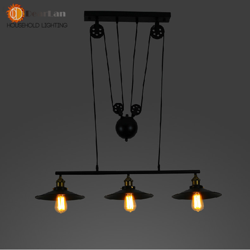 Nice Decor Retro Vintage Pendant Lamps With 1 2 3 Lights Perfectly Match For