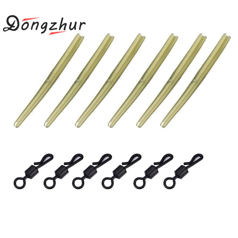 Dongzhur 40pc/set Fishing Tackle carp lead clips Quick Change swivels Anti Tangle Sleeves Drop ShippingDongzhur 40pc/set Fishing Tackle carp lead clips Quick Change swivels Anti Tangle Sleeves Drop Shipping