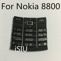 ISIU Replacement Mobile Phone Keyboard With Russian Letters For Nokia 8800 Keypad Repair Cover Accessories 8800