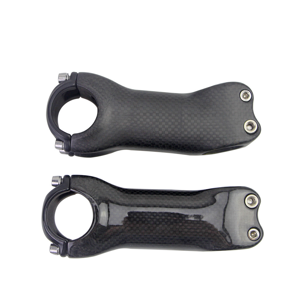 d684b51fefbd FCFB no logo 3K full carbon stem road mountain bike stem  70 80 90 100 110 120 130mm matte gloss 6 Degrees 17 Degrees