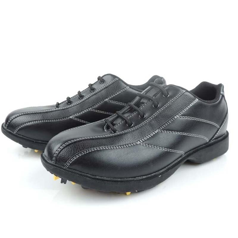 Новый kaiersn профессии Для Мужчинs Гольф обувь Гольф Спортивная обувь водонепроницаемый Гольф спортивная обувь с шипами