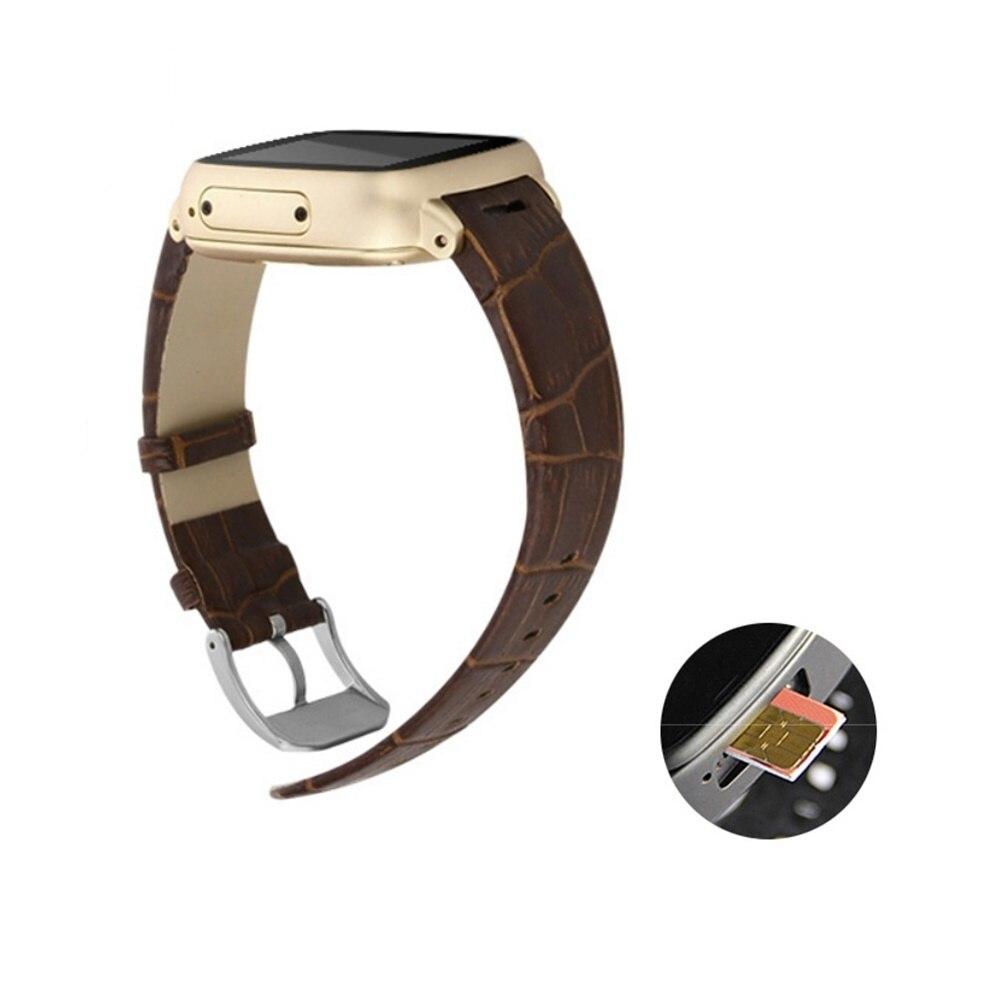 imágenes para A9 Android Smartwatch Reloj Bluetooth Reloj Teléfono Inteligente de Doble Núcleo WiFi GPS 5MP Cámara TF CardWristwatch Inteligente Reloj