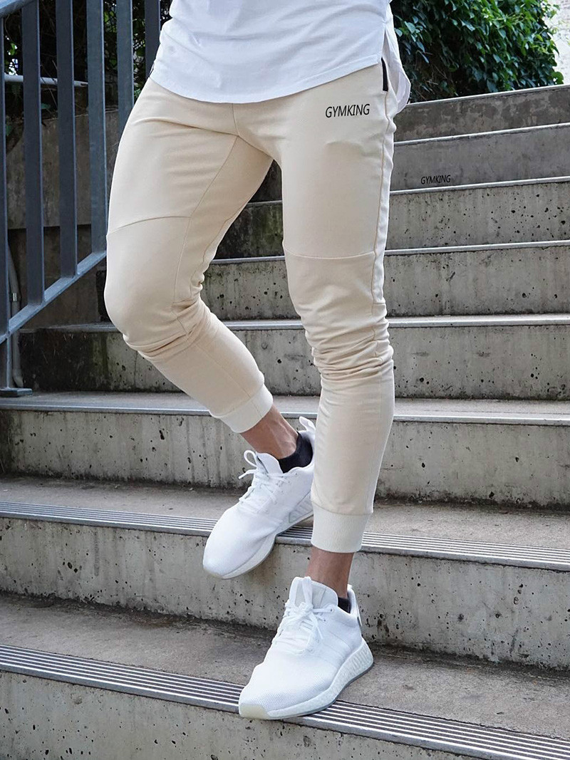 Fashion Mens Joggers Pants Skinny Casual Trousers Pants Top Quality Men Sweatpants
