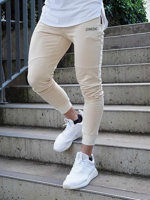 Fashion Mens Joggers Pants Skinny Casual Trousers Pants Top Quality Men Sweatpants 1