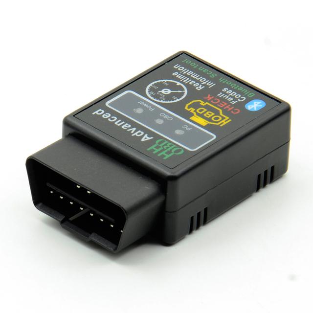 2018 Elm327 Bluetooth OBD2 V1.5 Car Diagnostic Interface ELM 327 1.5 HH OBD OBDII Scanner Fault Code Reader 9 OBD2 Protocols