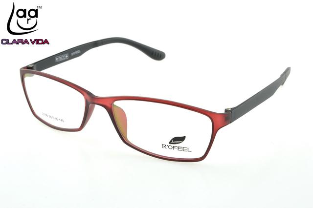 Só 7G = = Lerdo Óculos de Memória TR90 Ultra Leve Quadro Feito Sob Encomenda Vermelho Óculos de LEITURA Óptica da Prescrição Photochromic + 1 A + 6