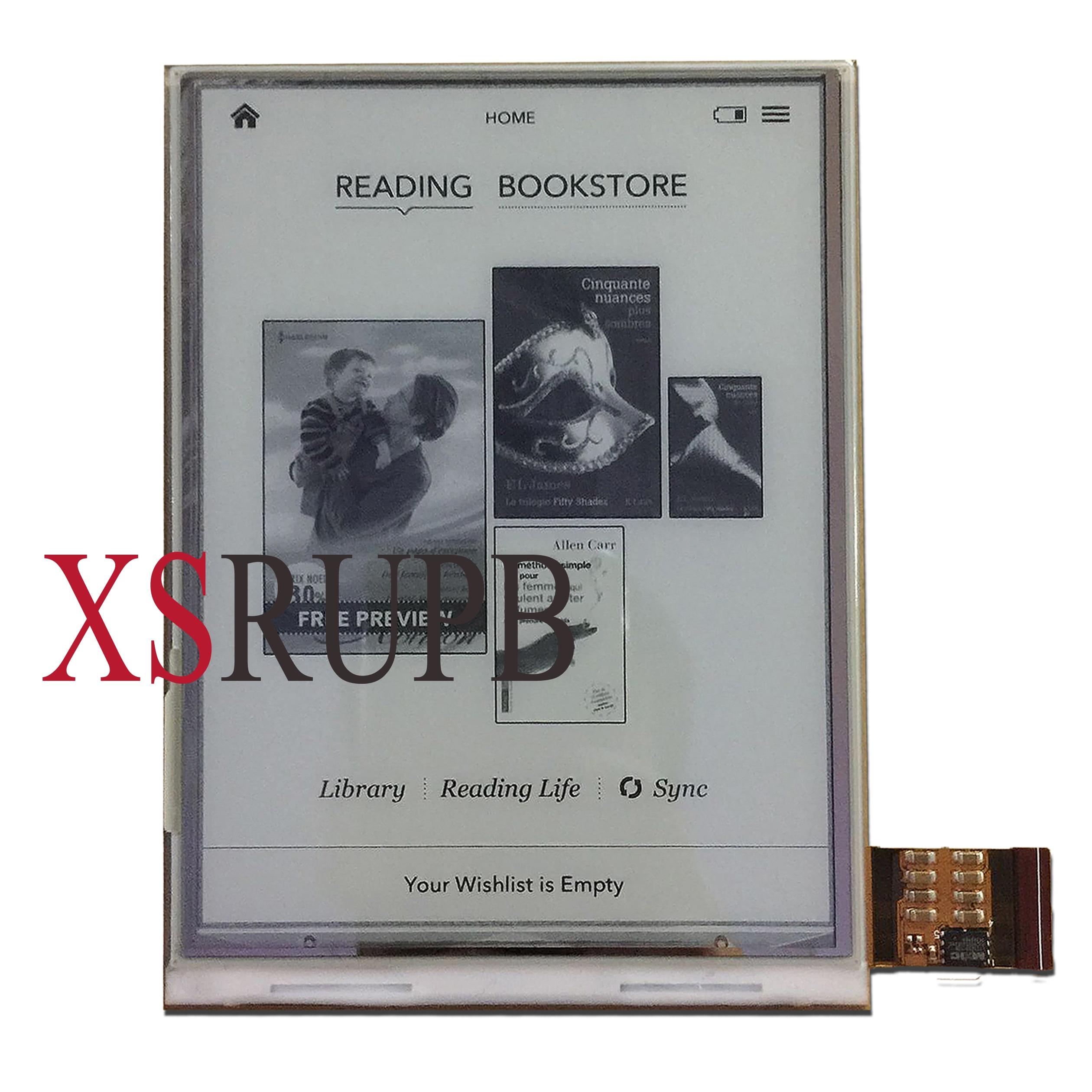 6 pulgadas 758*1024 HD LCD sin luz para roverbook alpha e-libro lector de pantalla