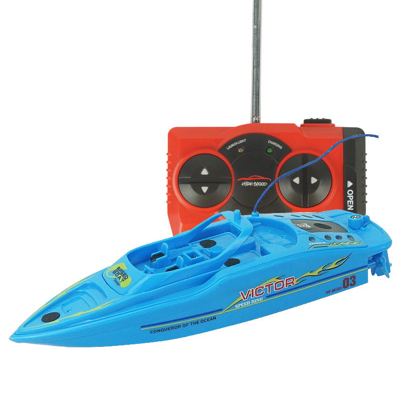 Remote Control High Speed Racing Boat Double Parent Child Interaction Toy Rc Boats Electric With